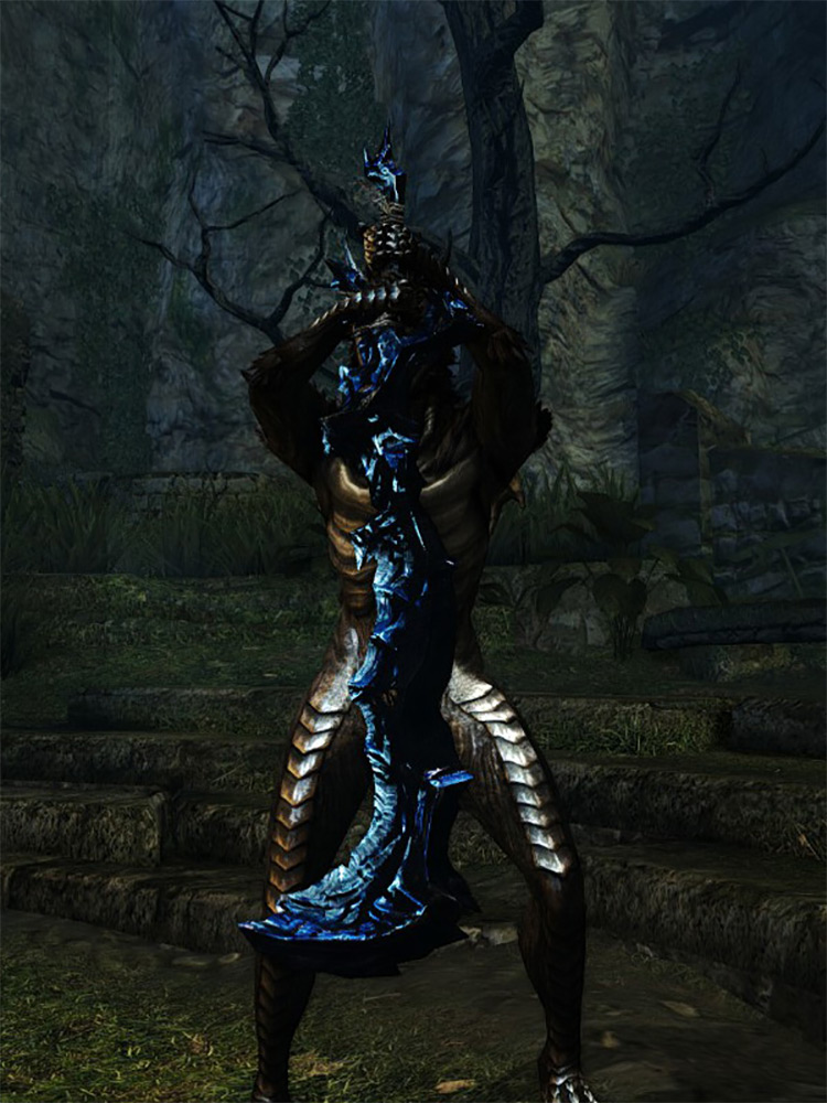 Obsidian Greatsword in DS1 Remastered
