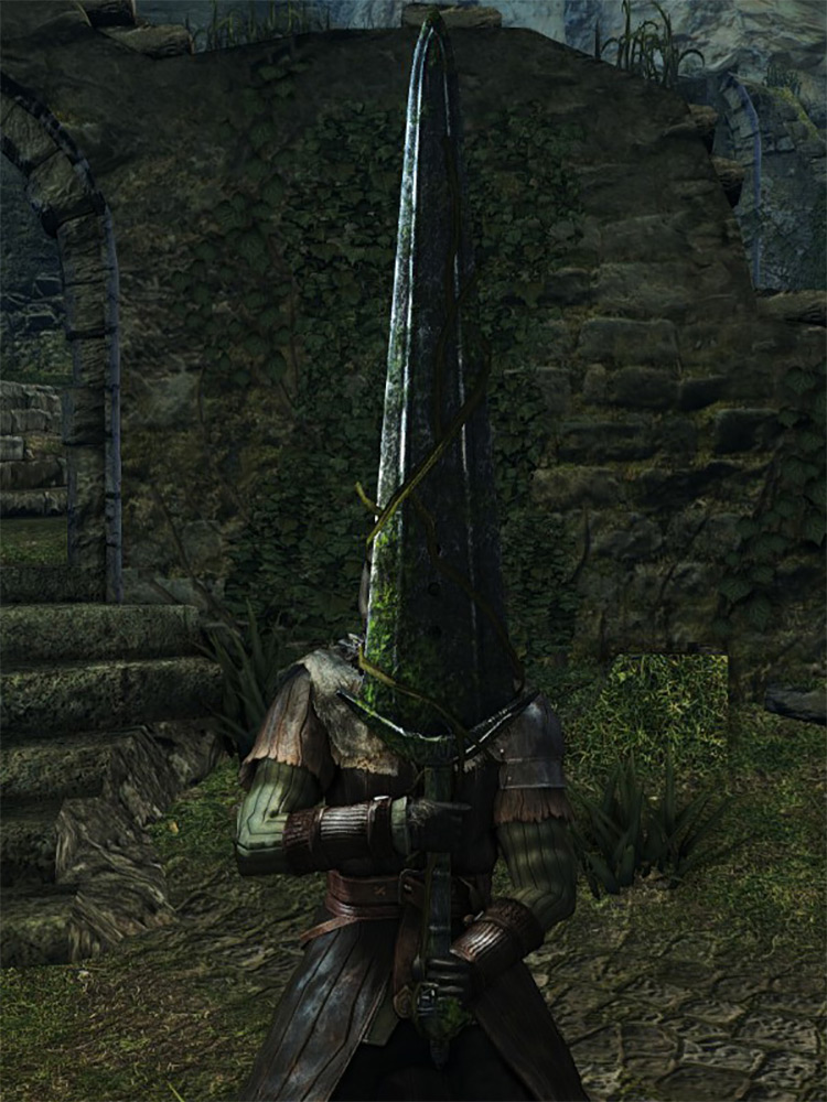 Stone Greatsword from Dark Souls 1 Remastered