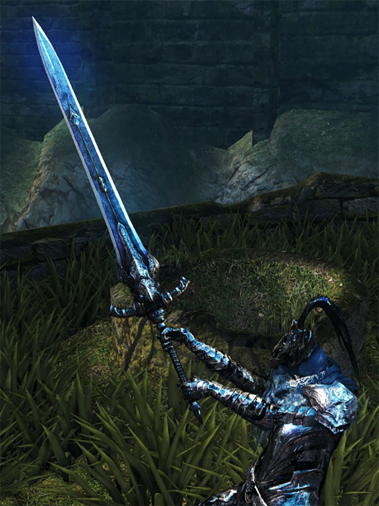Greatsword of Artorias Dark Souls 1 Remastered