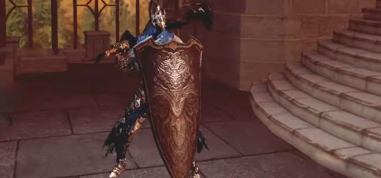 Greatshield of Artorias in Dark Souls Remastered