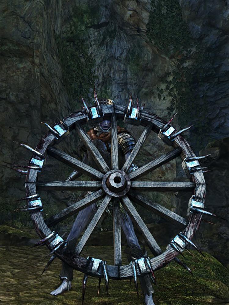 Bonewheel Shield in DS1 Remastered
