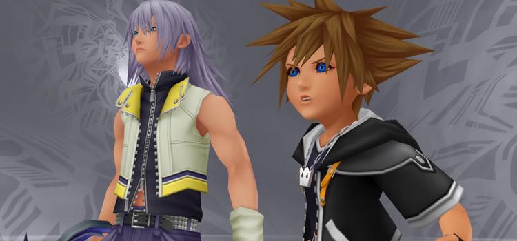 Sora and Riku in Kingdom Hearts 2.5 HD