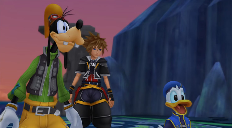 Donald & Goofy in KH 2.5 HD