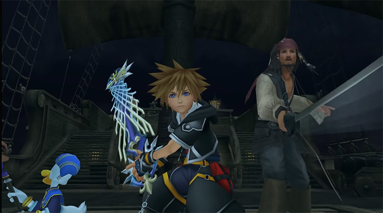 Captain Jack Sparrow in KH 2.5 HD