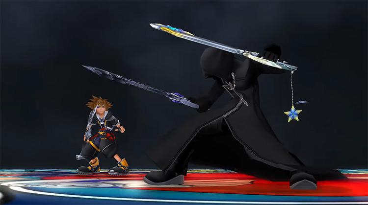 Roxas Boss Battle in KH 2.5 HD