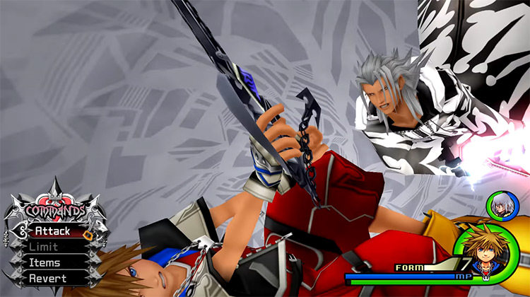 Final Form Xemnas Fight in KH 2.5 HD