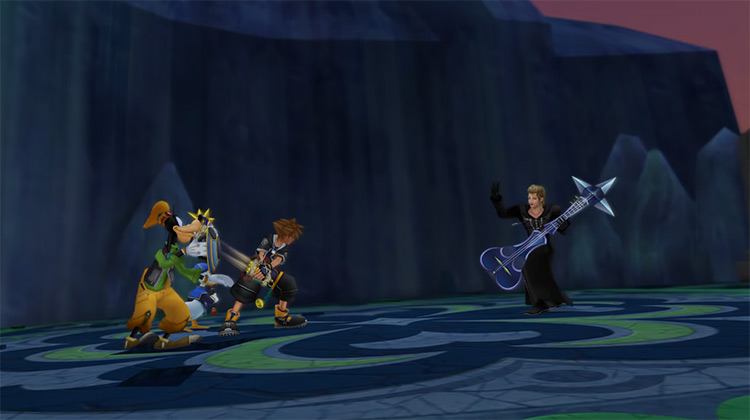 Demyx Boss Battle in KH 2.5 HD