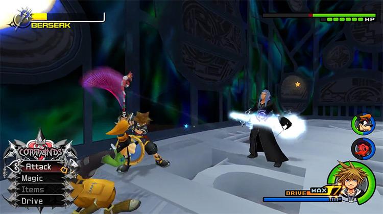 Saix Boss Fight in KH 2.5 HD