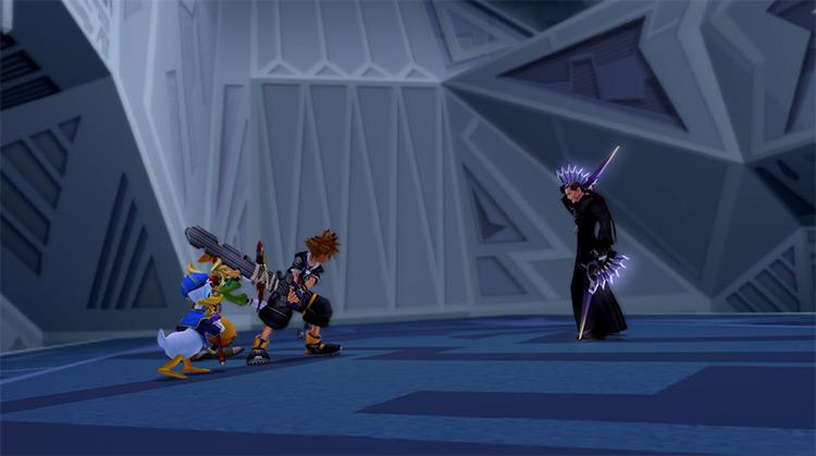 Xigbar Battle in KH 2.5 HD