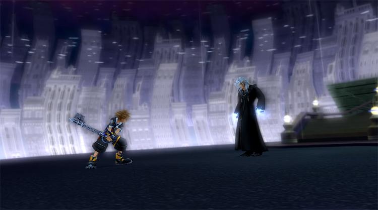 Xemnas, First Encounter in Kingdom Hearts II