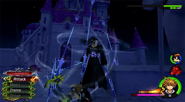 Xaldin in Kingdom Hearts HD 2.5