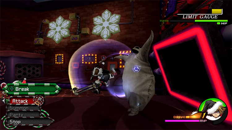 Oogie Boogie Boss Battle in KH 2.5 HD