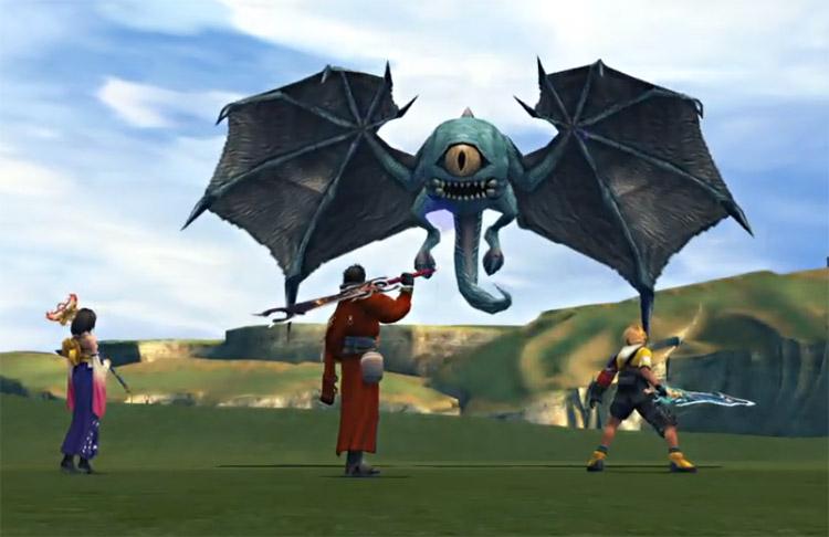 One-Eye Fiend Battle in FFX HD