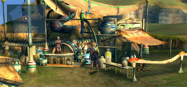 Shop Chocobo Space in FFX HD