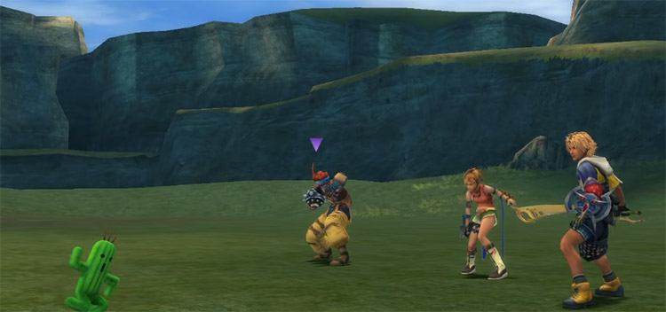 Pilfer Gil with Rikku in FFX HD
