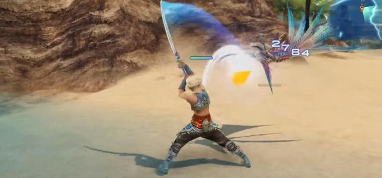 Vaan Bushi Samurai Blade Swing in FF12 Zodiac Age