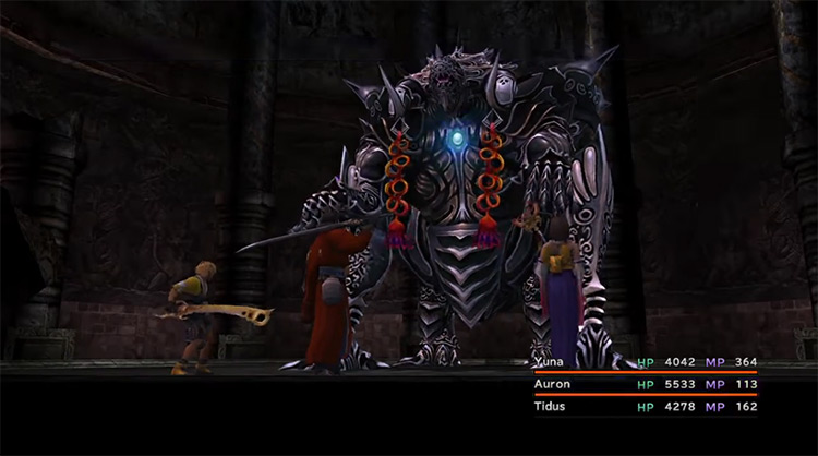 Omega Weapon in Final Fantasy X HD screenshot