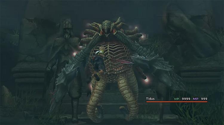 Geosgaeno FFX boss screenshot