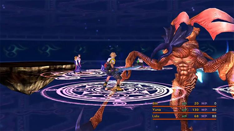 Spectral Keeper in Final Fantasy X HD