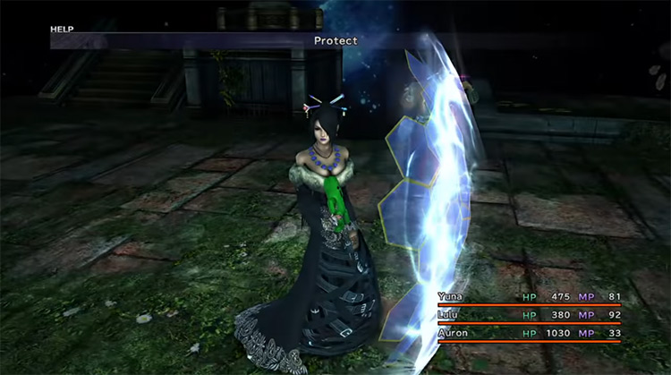 Protect in Final Fantasy X