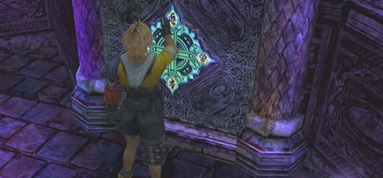 Omega Ruins Glyph Screenshot in FFX HD