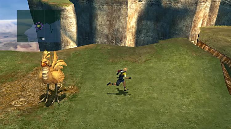Calm Lands Overworld Screenshot in FFX
