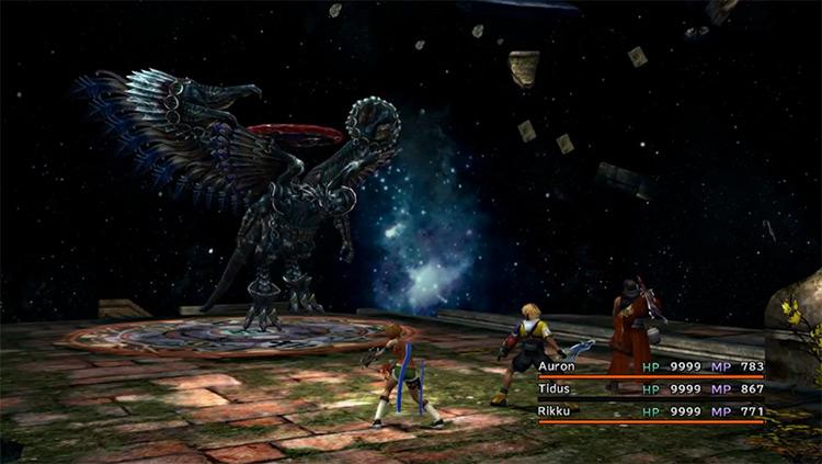 Dark Aeon Preview Battle in FFX