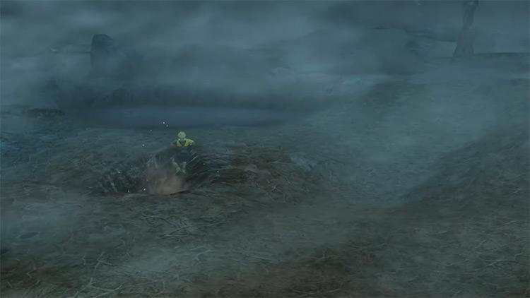 Dodging Lightning in Thunder Plains / FFX screenshot