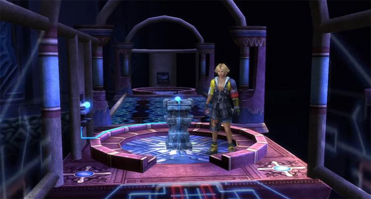 Cloister of Trials Screenshot / FFX