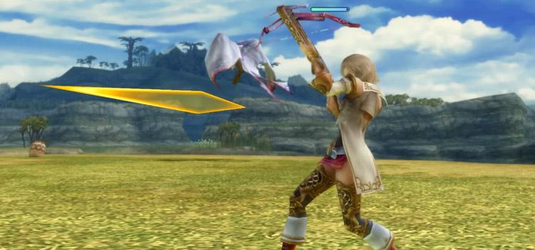 Ashe Crossbow Battle Stance in FFXII HD