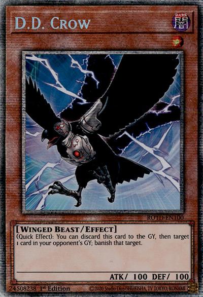 D.D Crow Yu-Gi-Oh Card