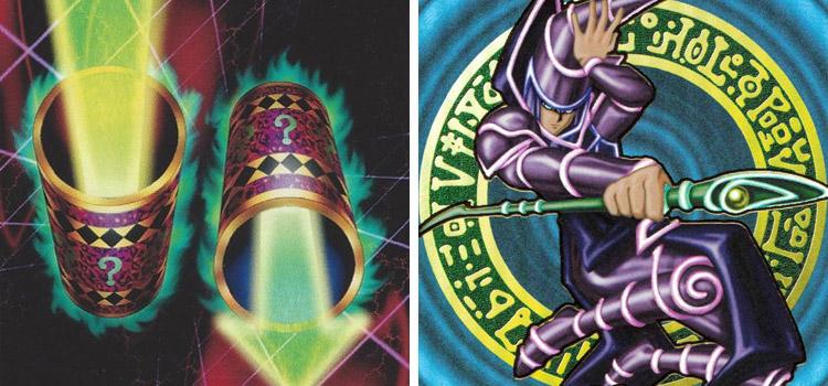 Original Dark Magician and Magic Cylinders YGO