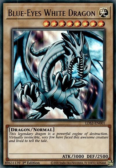 Blue Eyes White Dragon Yu-Gi-Oh Card