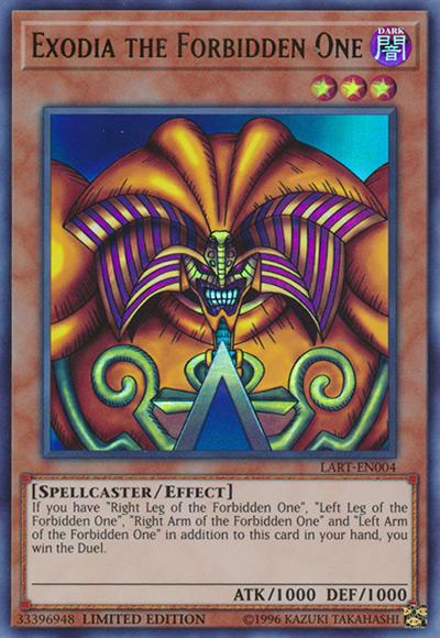 Exodia the Forbidden One YGO Card