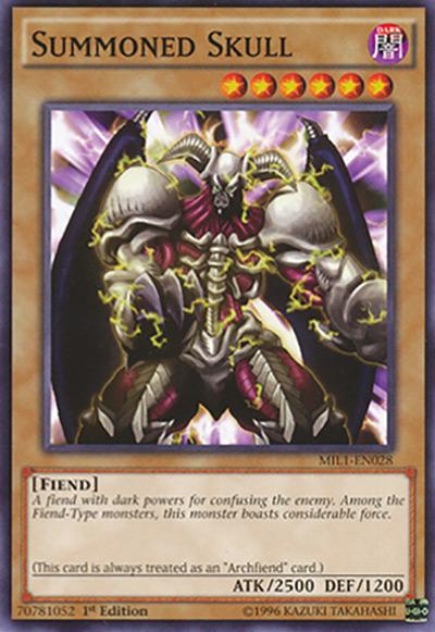Summoned Skull Yu-Gi-Oh Card