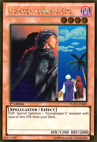 Gravekeepers Spy Yu-Gi-Oh Card