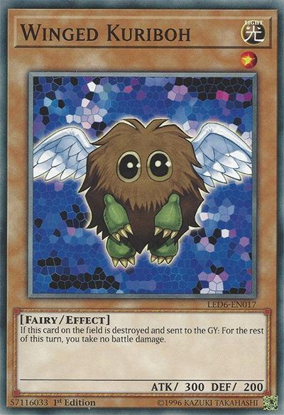 Winged Kuriboh YGO Card