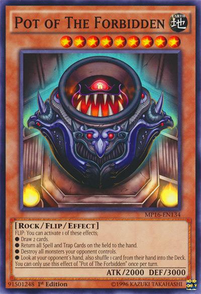 Pot of The Forbidden YGO Card