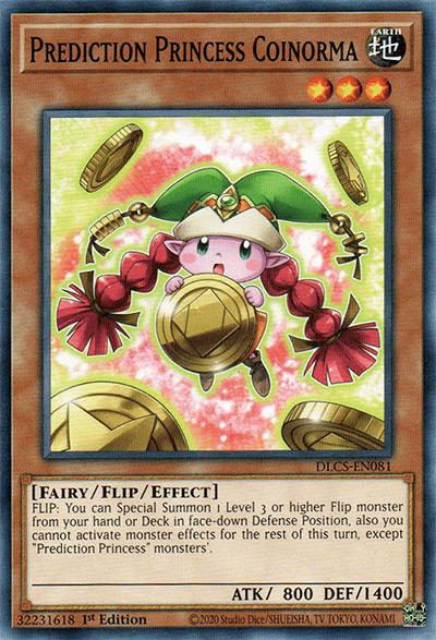 Prediction Princess Coinorma YGO Card