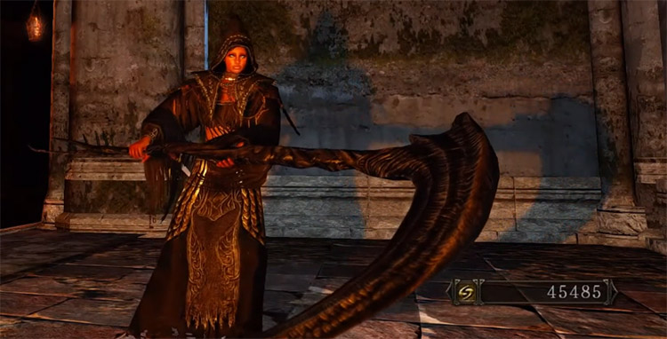 Scythe of Want in Dark Souls 2