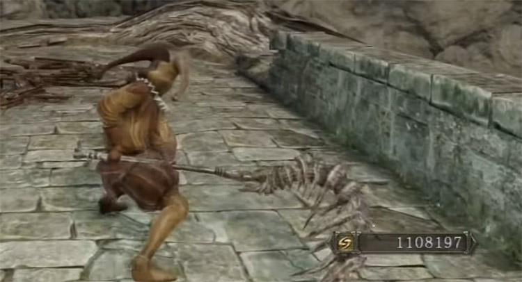 Bone Scythe in Dark Souls 2