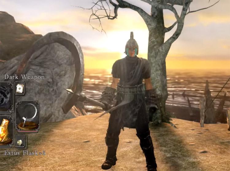 Full Moon Sickle in Dark Souls 2