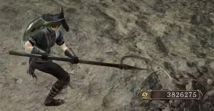Crescent Sickle in Dark Souls 2