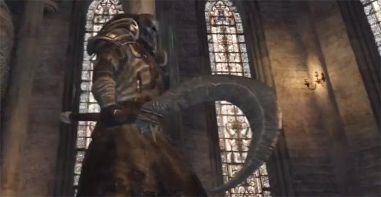 Silverblack Sickle in Dark Souls 2