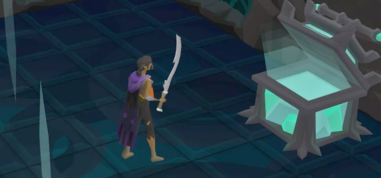 Blade of Saeldor Chest in Old School RuneScape