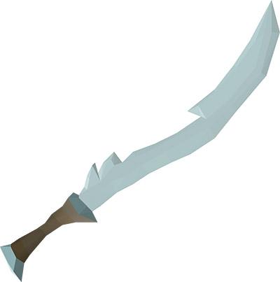 Blade of Saeldor OSRS Render