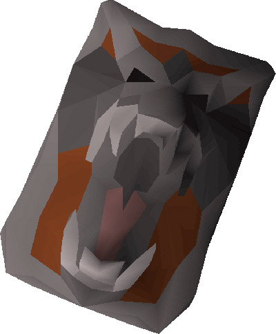 Dragonfire Shield Render from OSRS