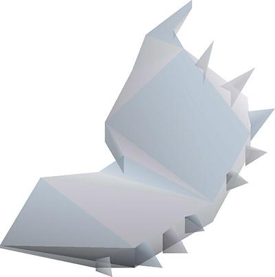 Crystal Shield Render in OSRS