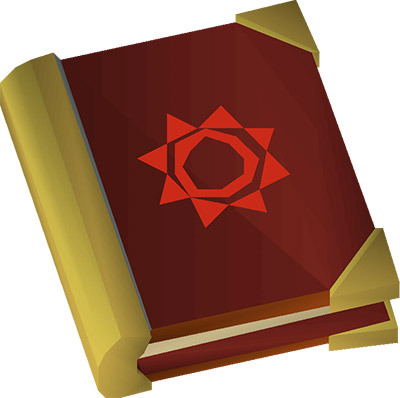Mage's Book OSRS Shield