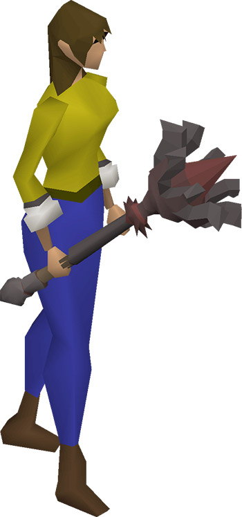 Inquisitor's Mace OSRS Render